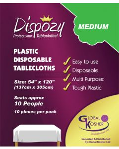 10 Dispozy Medium Tablecloths