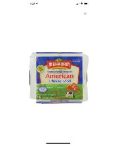 Mehadrin American Cheese Slices