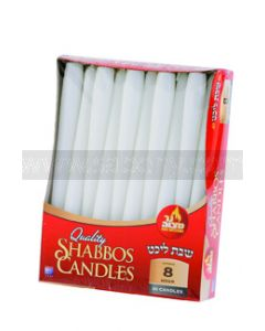30 Shabbos Candles (8 Hours)