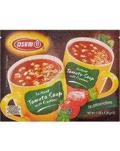 Osem 2 Packet Tomato & Crouton Soup