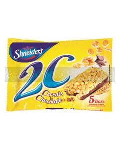 Shneiders 2C Chocolate Cereal 5 Snack Bars