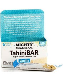 Mighty Sesame 6 Vanilla Tahini Bars