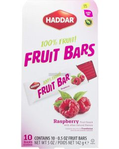 Haddar Raspberry Fruit Bars