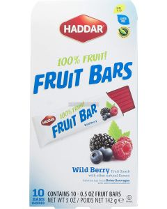 Haddar Wildberry Fruit Bars