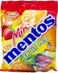 Mentos Mini Mixed Fruit Candy Bag