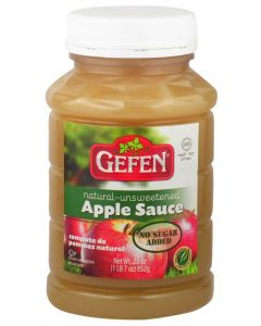 Gefen Small Unsweetened Apple Sauce