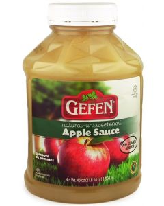 Gefens Large Unsweetened Apple Sauce