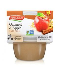 First Choice Oatmeal & Apple Tubs