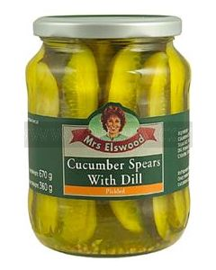Mrs Elswood Dill Cucumber Spears