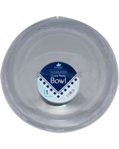 "Round Clear Medium 9.5"" Bowel"