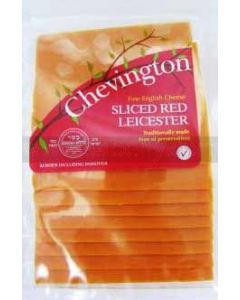 Chevington Sliced Red Leicester Cheese
