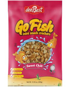 Dee Best Go Fish Sweet Chilli Crackers