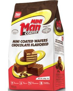 Man Mini Coated Wafers
