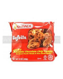 Kemach Sofbite Chocolate Choc Chip Cookies