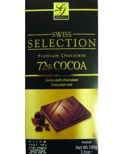 Swiss Selection Dark 72% Cocoa Bar