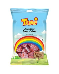 Tenli Strawberry Sour Cubes
