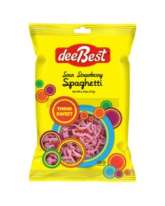Dee Best Strawberry Sour Spaghetti