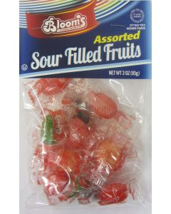 Blooms Assorted Sour Filled Fruit Candy