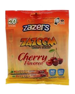 Zazers Zazoom Cherry Chewy Sticks