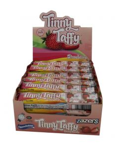Zazers Tinny Taffy Strawberryerry Tubes