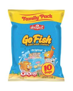 Dee Best Go Fish 10 Original Salt Crackers
