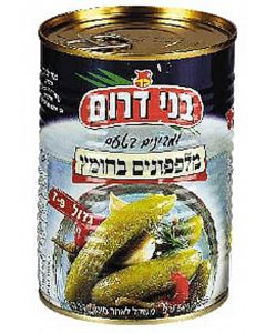 Bnei Darom Large Cucumbers in Vinegar (7 - 9 Pickles)