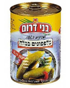 Bnei Darom Small Cucumbers in Brine (13 -17 Pickles)
