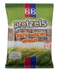 BB Whole Wheat Sesame Pretzel Rods