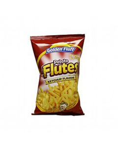 Golden Fluff Large Ketchup Flutes