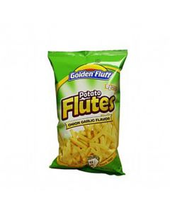 Golden Fluff Large Onion & Garlic Flutes
