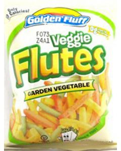 Golden Fluff Small Vegetable Flutes