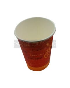 50 12 Oz Paper Printed Coffee Cups