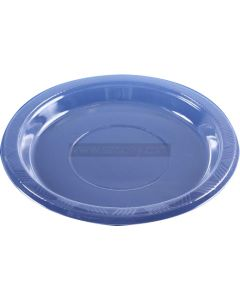 "40 Small 7"" Clear Plastic Plates"