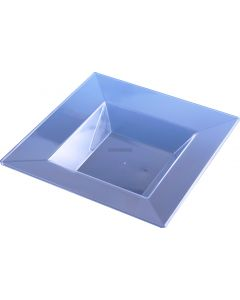 10 Large 12 Oz Square Clear Soup Bowls