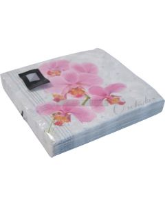 20 3ply Orchid Napkins
