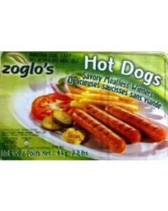 Zoglo's Hot Dogs Vegetarian Vienna's (Large Pack)