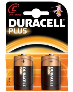 Duracell Plus Power Batteries C