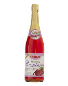 Kedem Sparkling Raspberry Grape Juice
