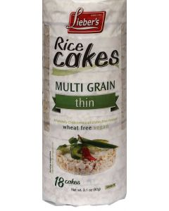 Liebers Thin Multi Grain Rice Cakes