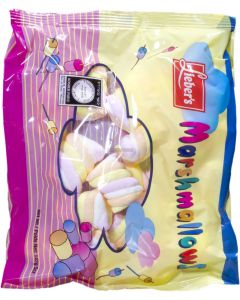 Liebers Family Pack Twisted Coloured Marshmallows