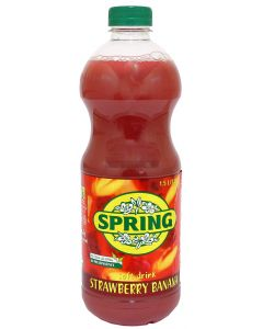 Spring  Strawberry & Banana Drink