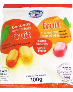 World Food Sugar Free Fruit Flavoured Candies