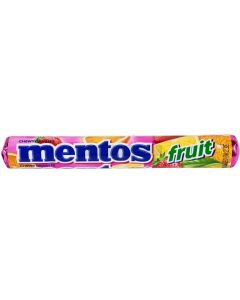 Mentos Fruit Candy Roll