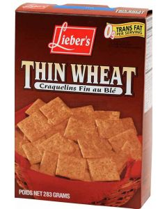 Liebers Thin Wheat Snacks