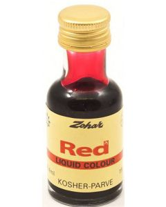 Zohar Red Food Colouring