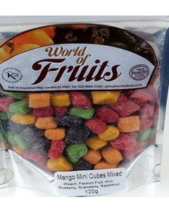 World of Nuts Mango Mini Cubes