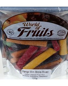 World of Nuts Mango Mini Sticks