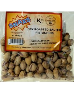 Snax Roasted Salted Pistachios