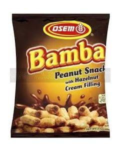 Bamba with Hazelnut Cream Filling