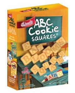 Blooms ABC Cookie Squares